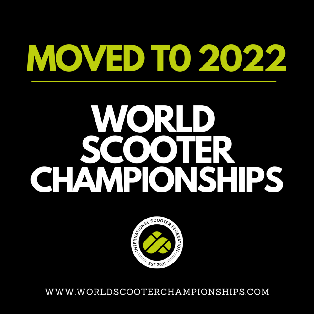 World Scooter Championships Moved To 2022